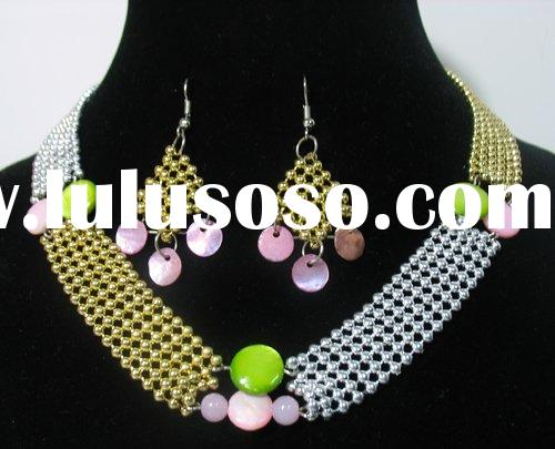 WHOLESALE LOT COSTUME JEWELRY METAL NECKLACE SETS