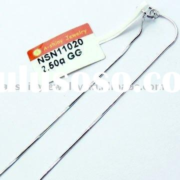 Wholesale 925 sterling silver necklace chain