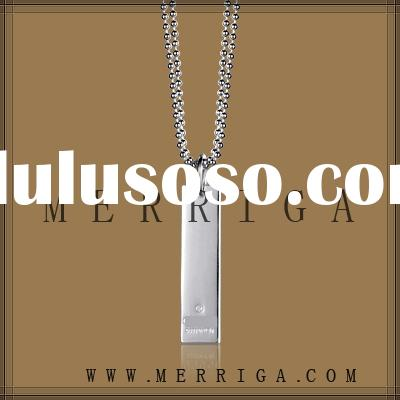 Wholesale 925stering silver necklace high fashion jewelry with cheap price