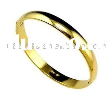 china supplies jewelry wholesale 18K gold bracelet fashion gold jewelry gold bangles BG117