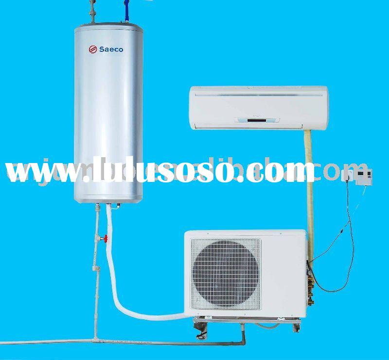 heat pump with water heater