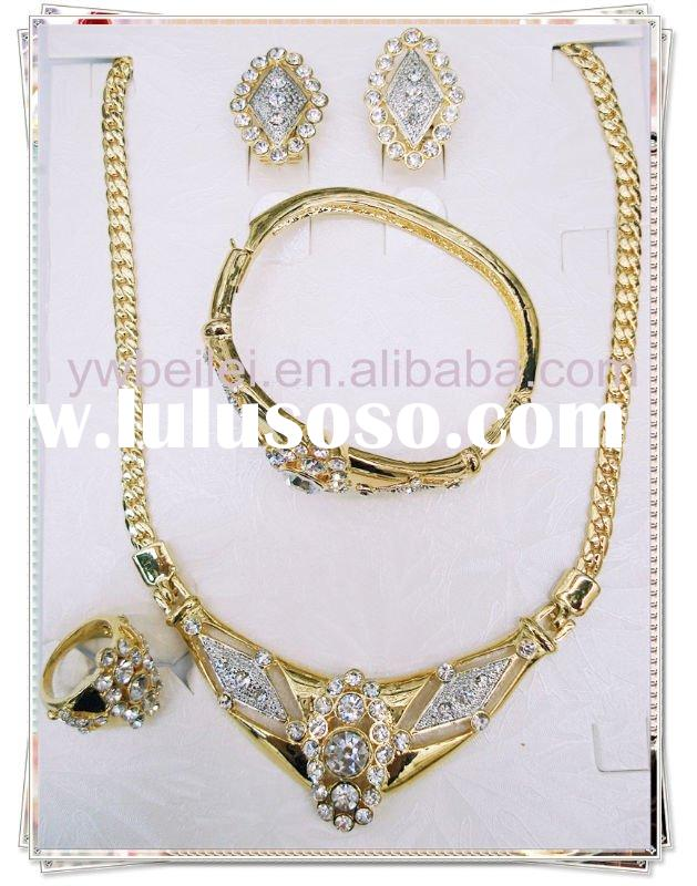 indian bridal gold jewellery set