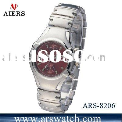 silver gift watch