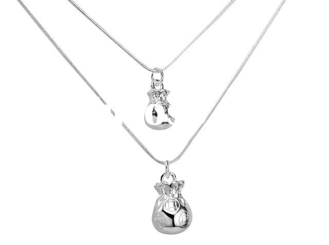 silver jewelry supplier 925 Sterling Silver Necklace pandent Hot Design Low Price top quality X269