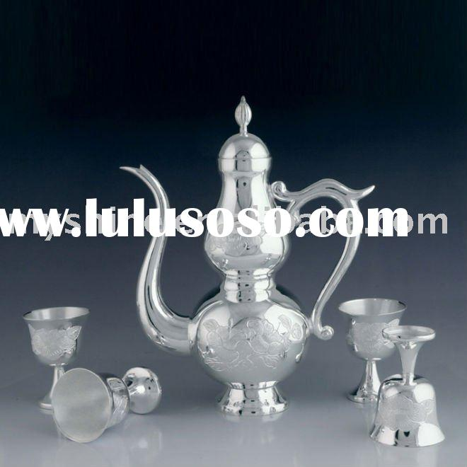 solid silver alcohole sets tableware gift set