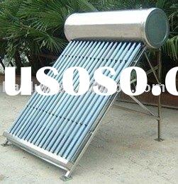 water heater vacuum tube solar water heater