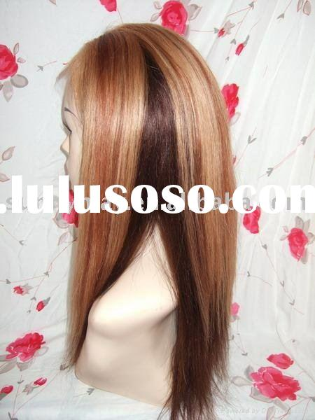 100% Human hair lace  wig accept Paypal