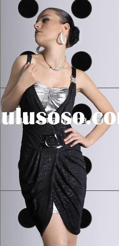 2009 NEW Fashion ladies' dress (beautiful design and woman clothing)
