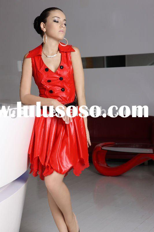 2009 New Fashion Ladies' Dress (beautiful dress and woman clothing)