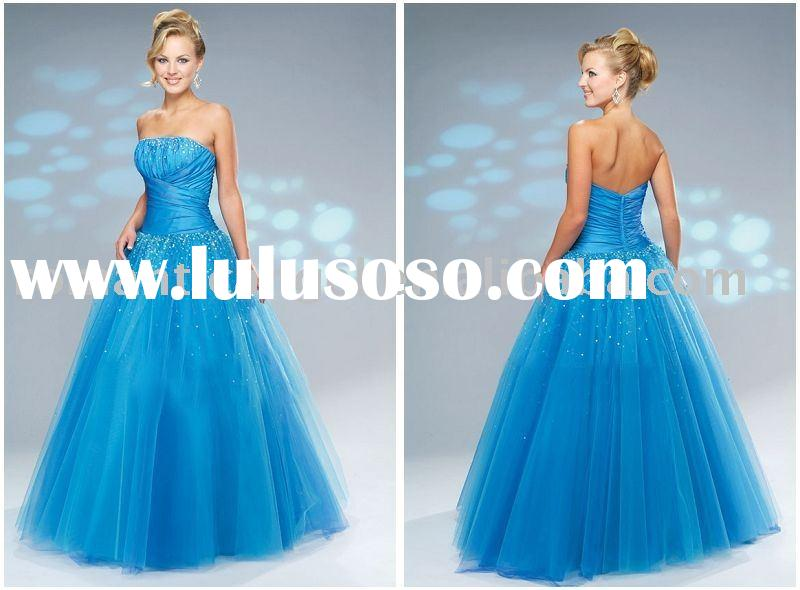 2009 new style prom gown EV-213