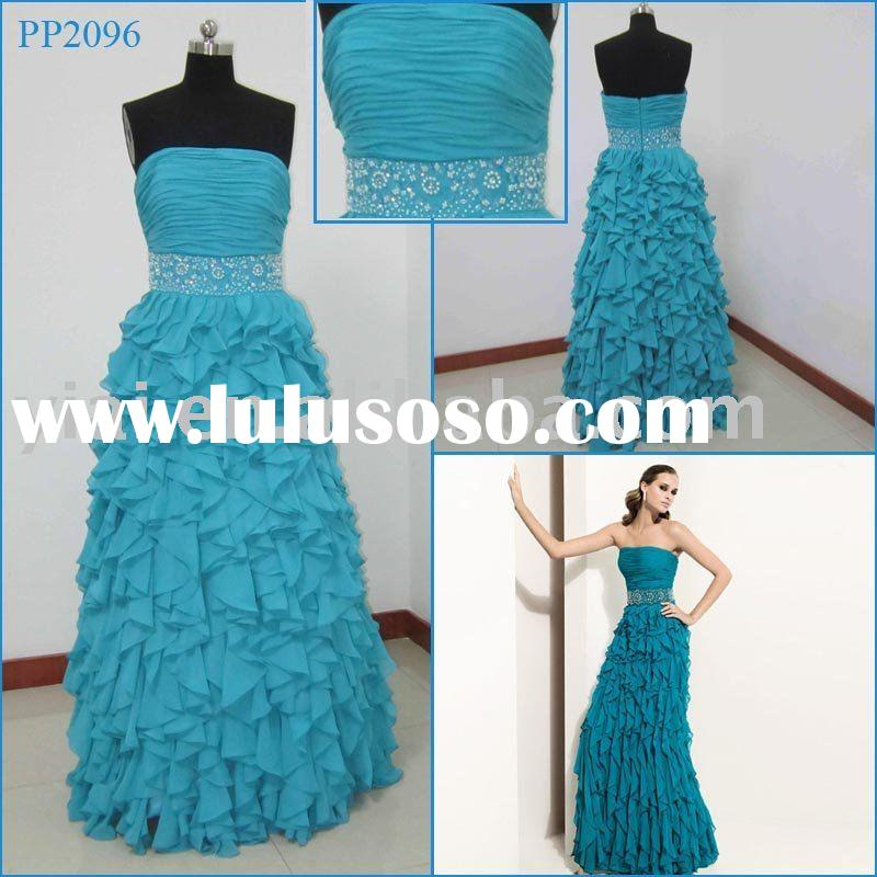 2010 Wholesale Brand New Gorgeous Chiffon  Evening  Dress Collection