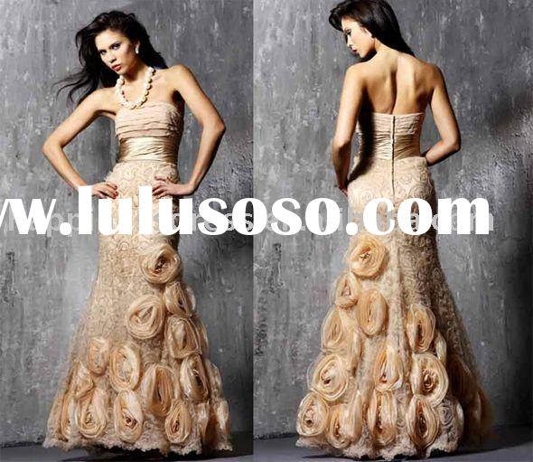 2010 new designer prom evening drees  evening gown NE2148