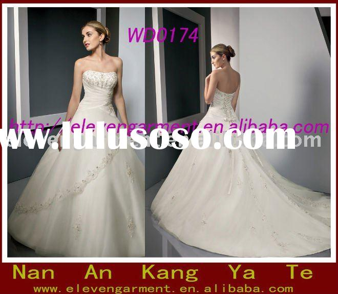 2011Factory lastest Design Bridal Gown Wedding Dress