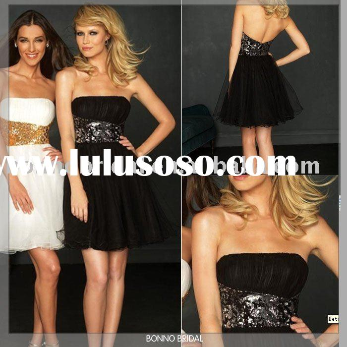 2011 BONNO Short Prom Dresses /Short Evening Gowns /Short Evening Dress -N012