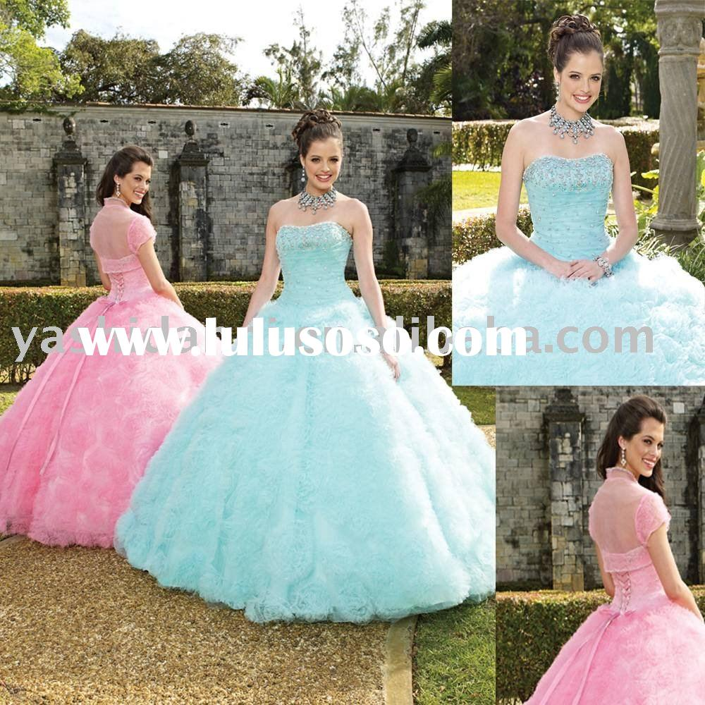 2011 Big Ball Gown prom dress
