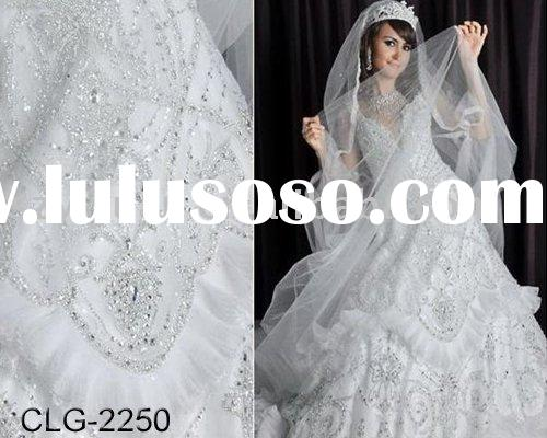 2011 Dramatic Wedding Dress New Style CLG-2250