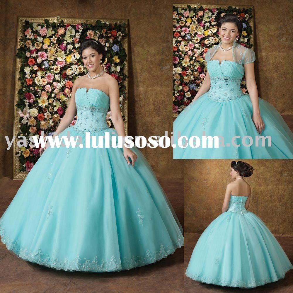 2011 Luxury Ball Gown Prom dresses