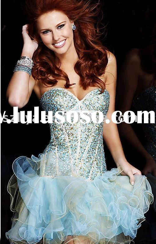 2011 New Arrival Style  luxurious Mermaid Style Prom Dress