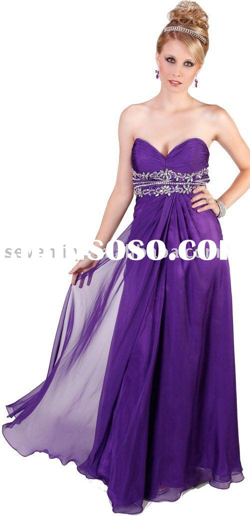 2011 New Fashion Best Selling Coral Prom Dresses