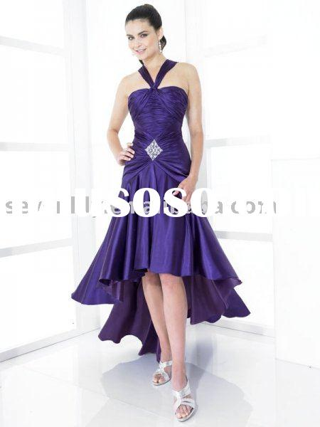 2011 New Fashion High-Low Hem Prom Dresses
