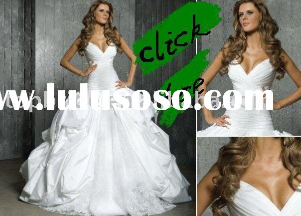 2011  New Fashion Wedding Dress /Gown AS607 ( OEM FACTORY)