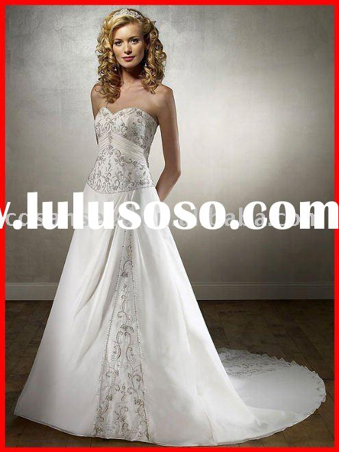 2011 Unique Wedding Dress Online from China