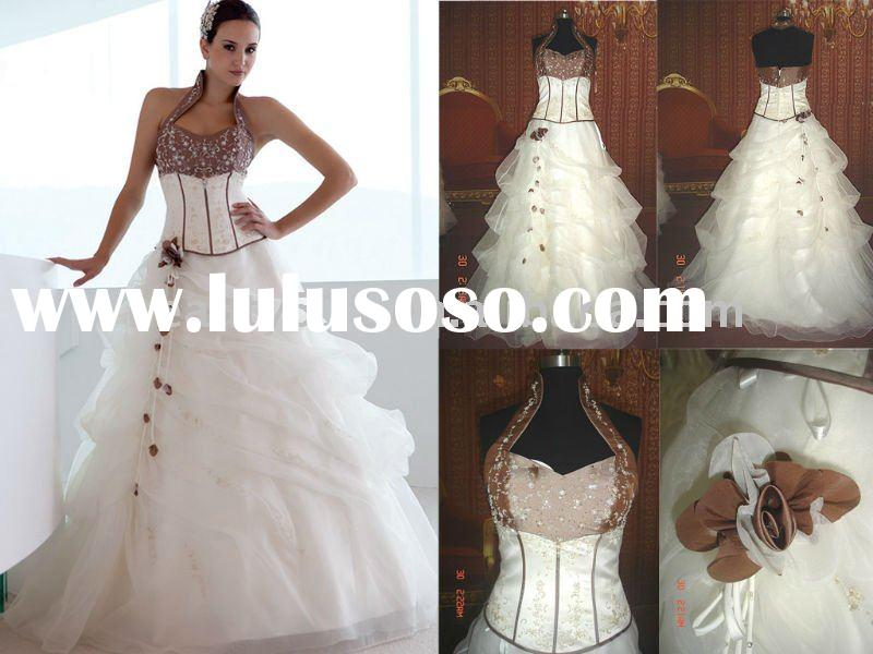 2011 factory Latest design Bridal Gown wedding dress A0406