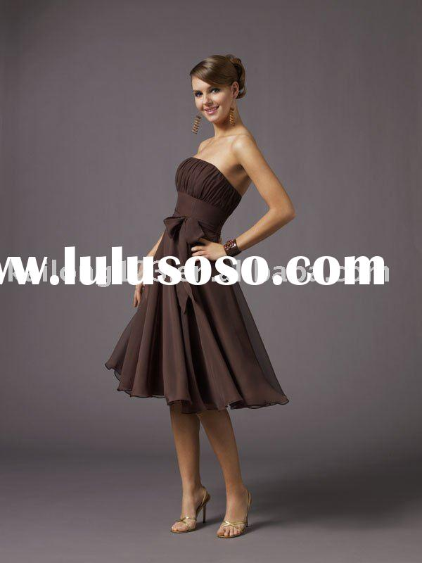 2011 hot sell and new style simple  fashion cocktail dress KL2461