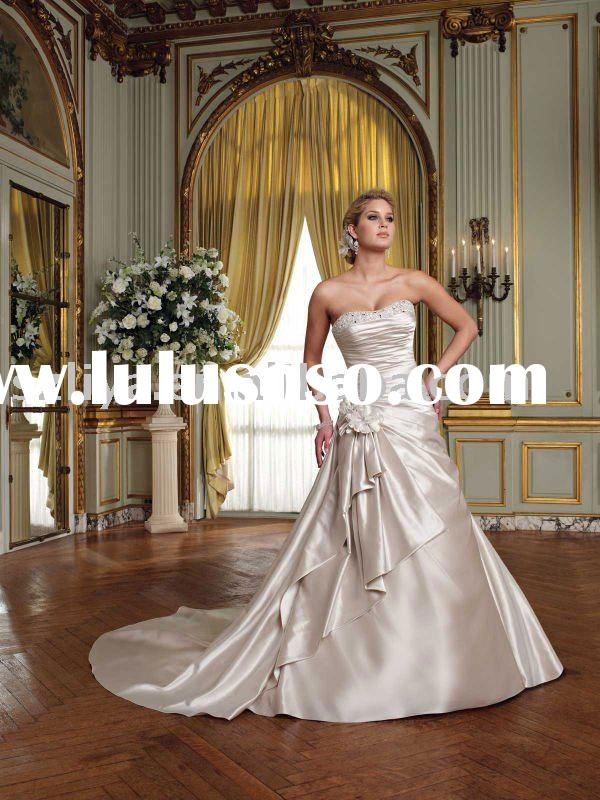 2011 new style custom made wedding dresses