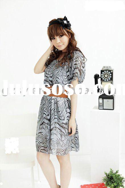 2011 the latest fashion chiffon dress