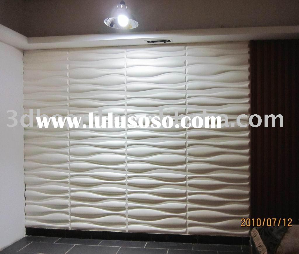 3D Goliat interior decorative wall panels
