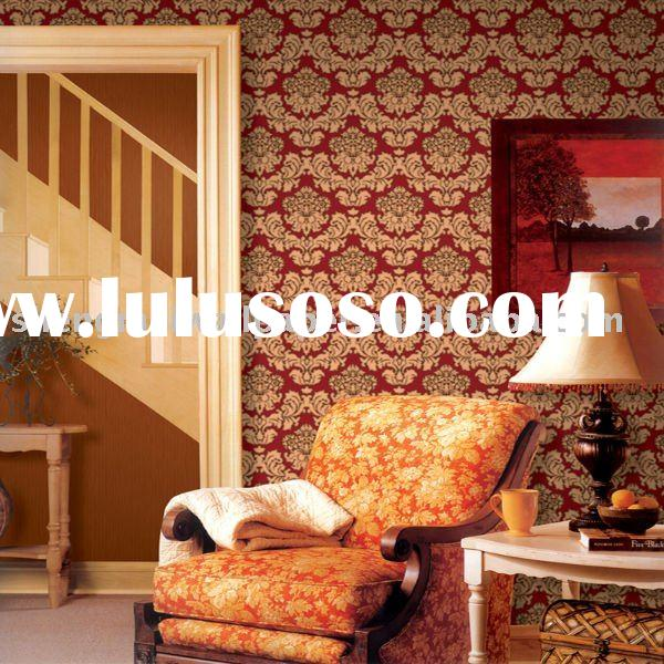 Antique decorative wallpaper