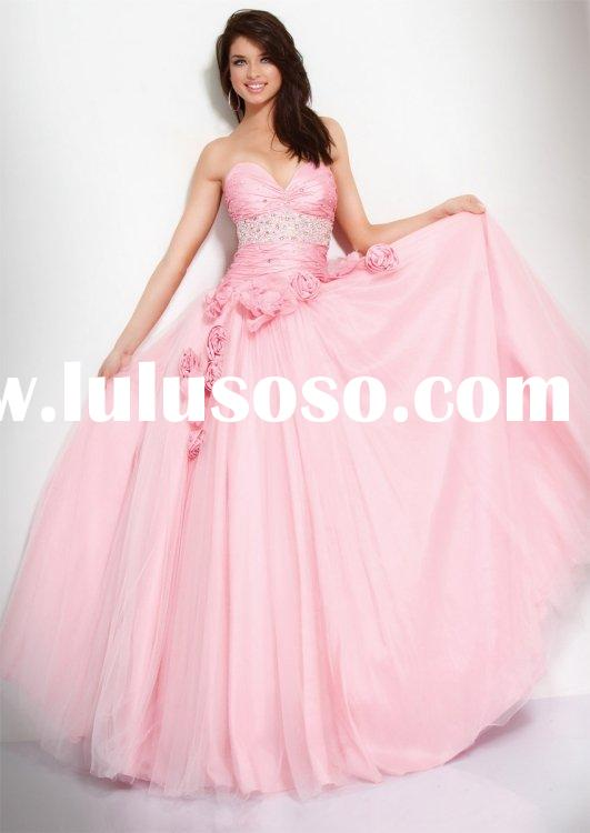 Beautiful a-line sweetheart chapel prom dress jovani-159777