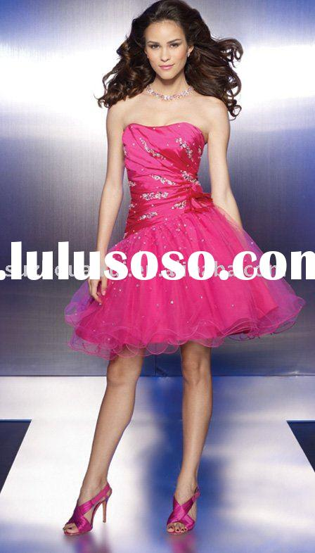 C0225 Fashion Short Prom Dress 2011 New style