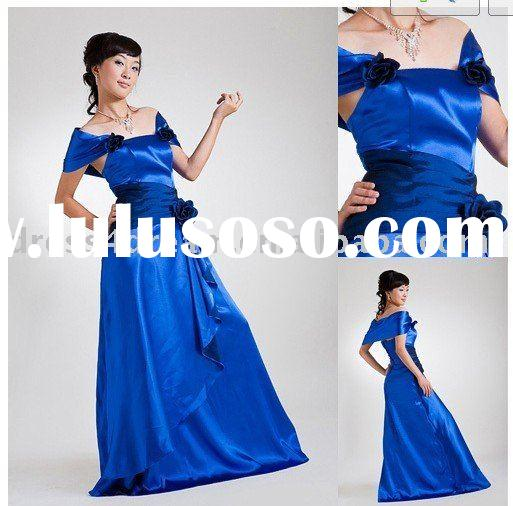 Cap Sleeve ball gown prom dress