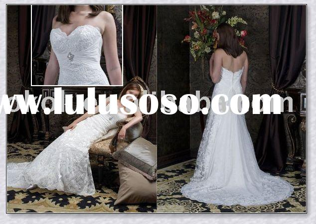 Discount bridal wedding dress