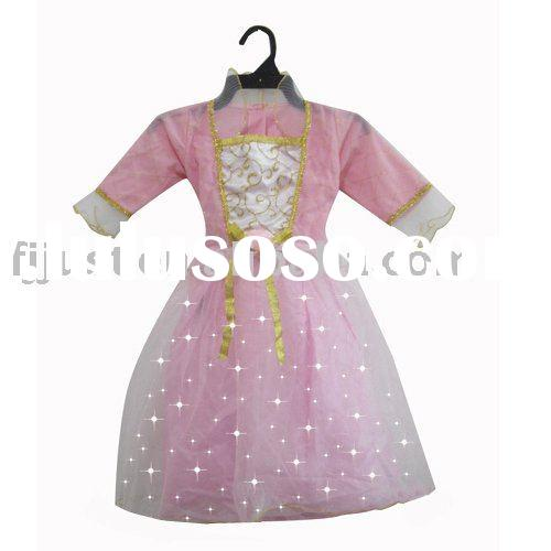 Fairy long sleeve party dress,cosplay dress