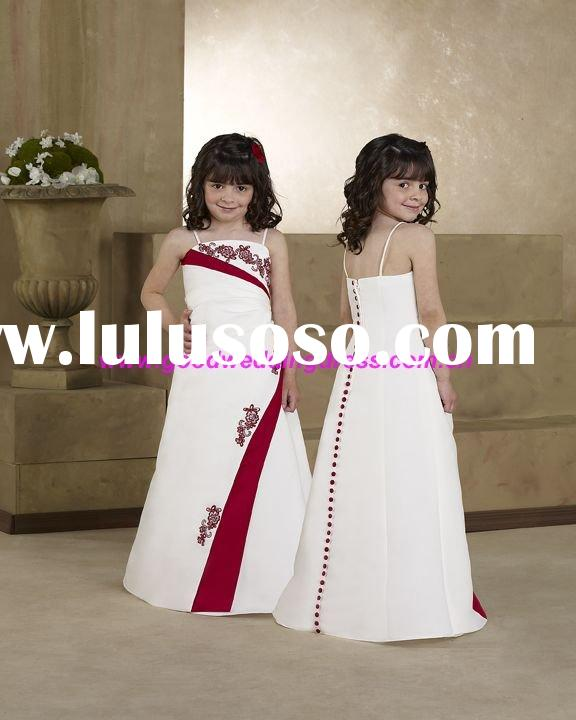Flower girl  prom dresses