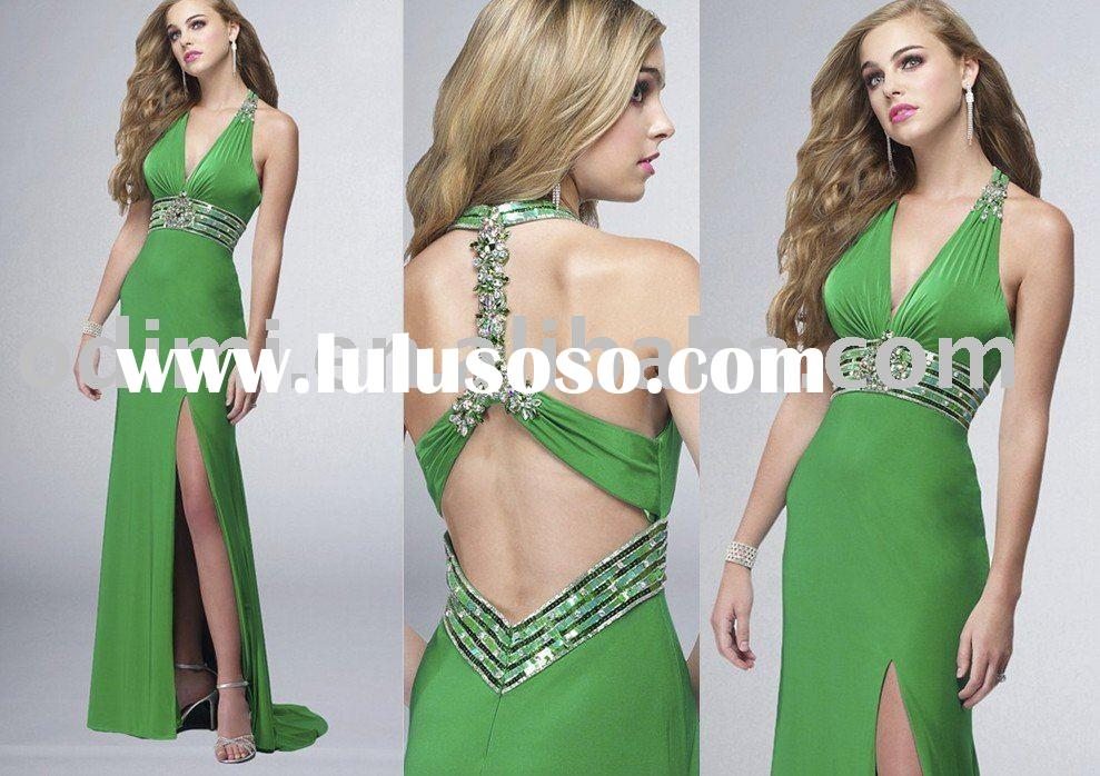Graceful Halter Prom Dress 2011