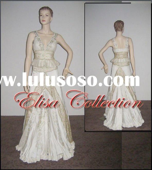 Luxurious beautiful white dresses for prom
