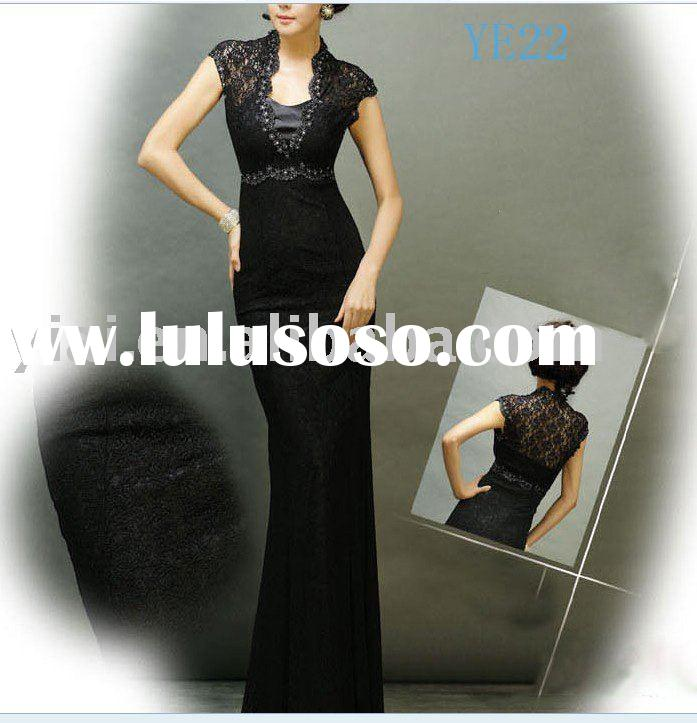 New style bright color elegant ladies evening dress YE22