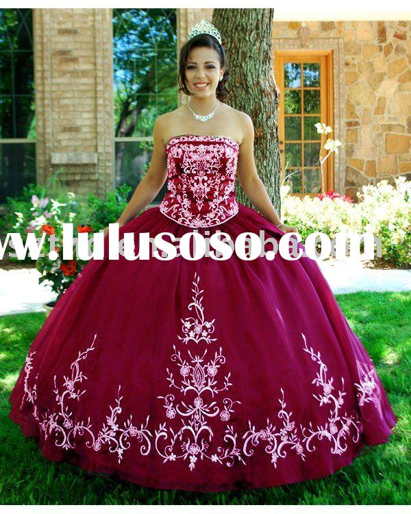 Nice ball gown prom 2011 quinceanera dress