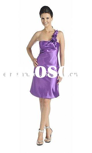 One Shoulder Homecoming DressLFS905
