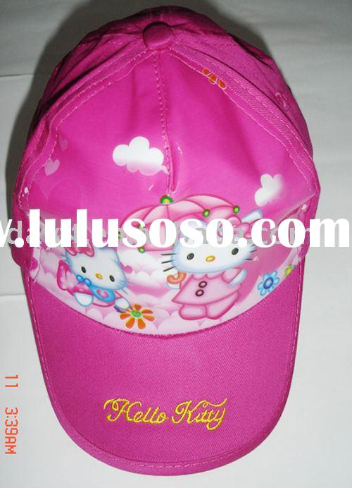Power seller + Hello Kitty hat/cap  for kid A649 on sale wholesale & drop shipping