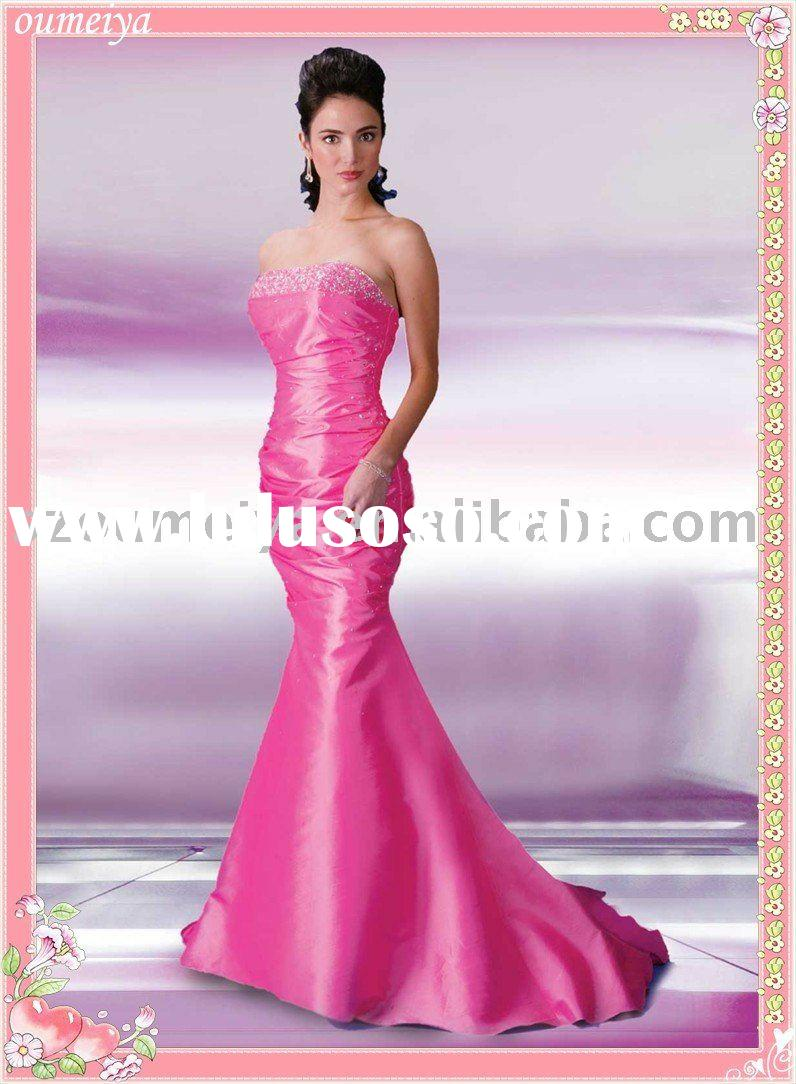Professional Designer Beading Mermaid Cocktail Dress AE1044
