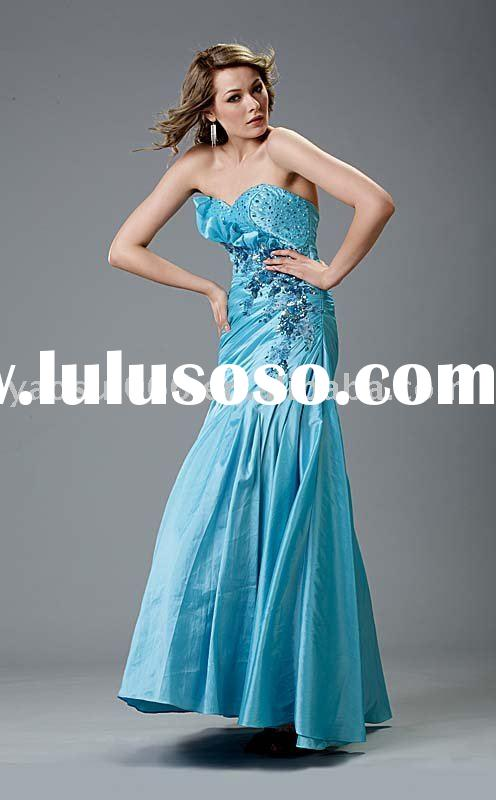 Prom evening gown
