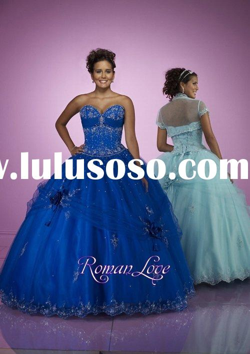 Roman Love Glorious Organza Ball Gown Prom Gowns