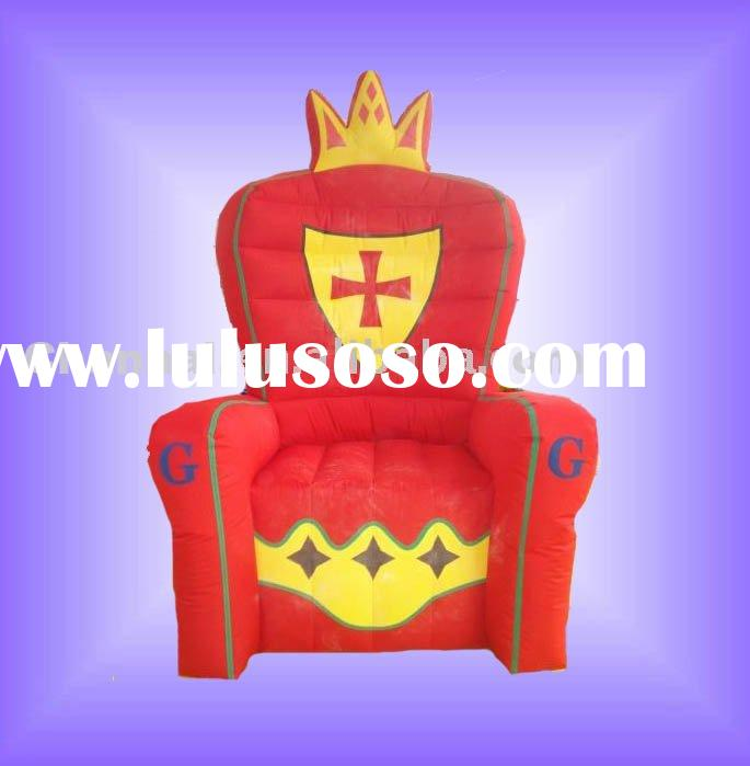 Royal inflatable chair(inflated chair)