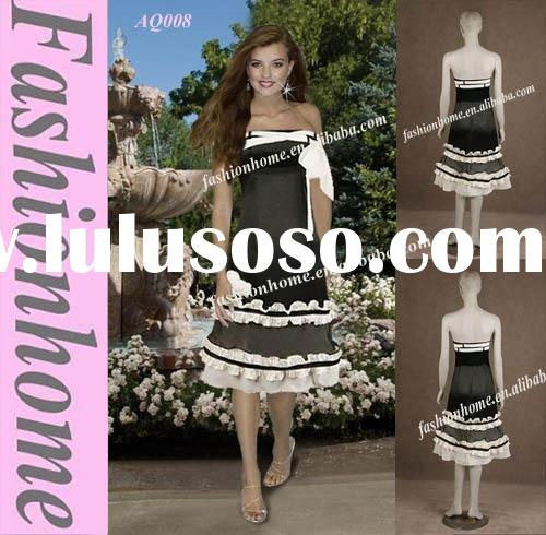 Strapless Party Dress ,Short night dress AQ008