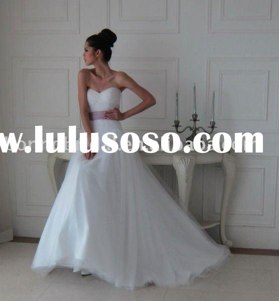 Sweetheart Open Back Wedding Dress Ball Gown Design